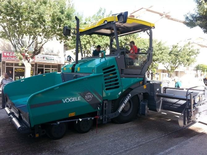 Karaman Belediyesine Yeni Asfalt Serici