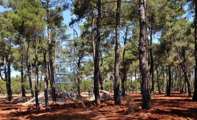 Macera Parkı'nda Çalışmalar Başladı