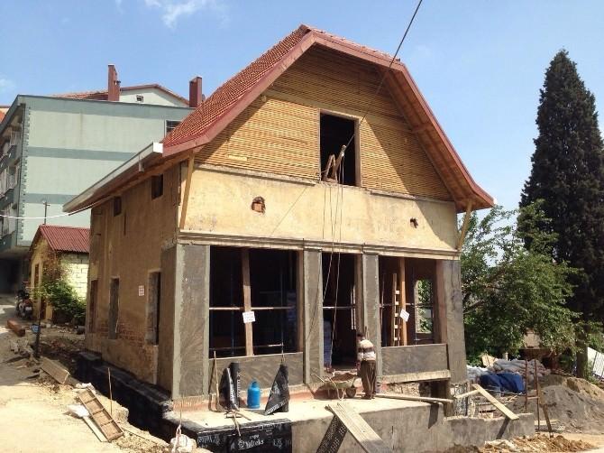 Tarihi İtfaiye Binası Restore Ediliyor