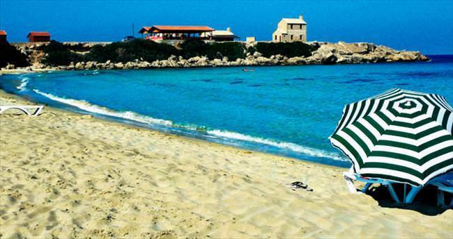Kıbrıs'ın en özel sahilleri
