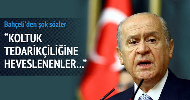 Bahçeli'den Kılıçdaroğlu'na şok sözler