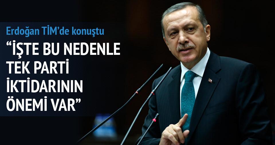 Erdoğan: Hükümet kurulamayan bir ülke durumuna düşürmenin vebali ağırdır