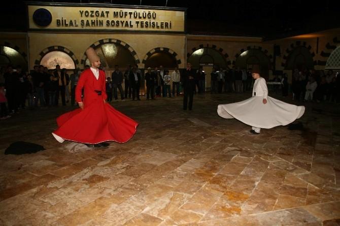 Yozgat Bilal Şahin Külliyesinde Düzenlenen Ramazan Gösterileri Yoğun İlgi Görüyor