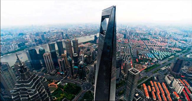 Dünyanın en yüksek ikinci binası Çin'de