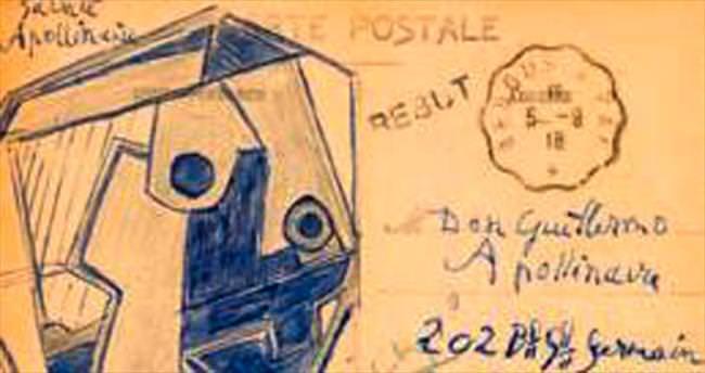 Picasso'dan kartpostal almak...