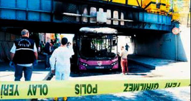 İETT otobüsü patladı