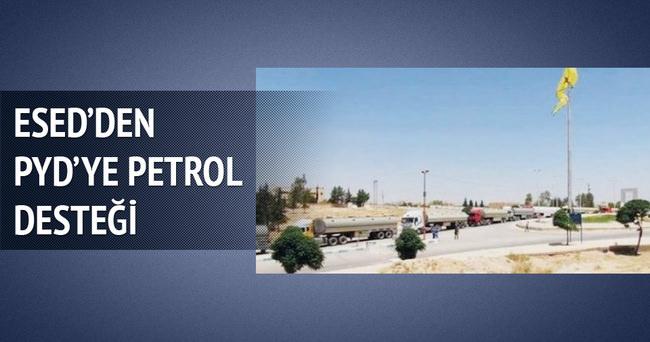 Esed'den PYD'ye petrol desteği!