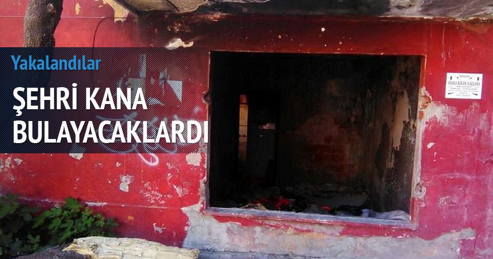 İstanbul'da metruk binadan cephanelik çıktı