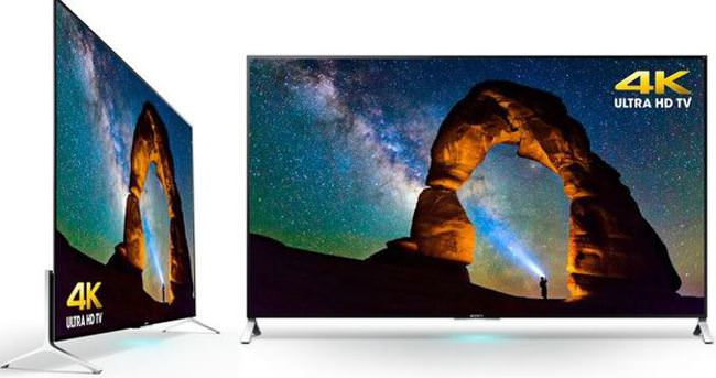 Sony'den ultra ince 4K TV
