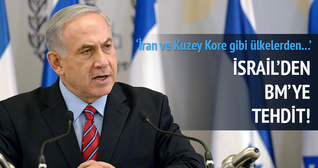 İsrail'den BM'ye tehdit