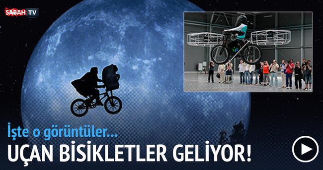 'Uçan bisiklet' geliyor