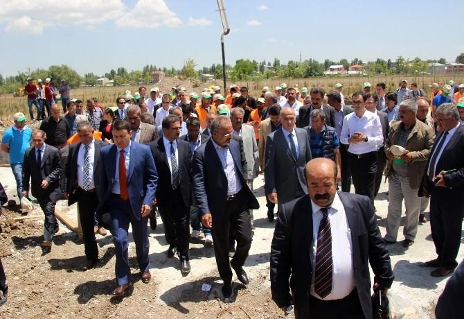 Ağrı'da Şehir Ormanı Projesinin Temeli Atıldı