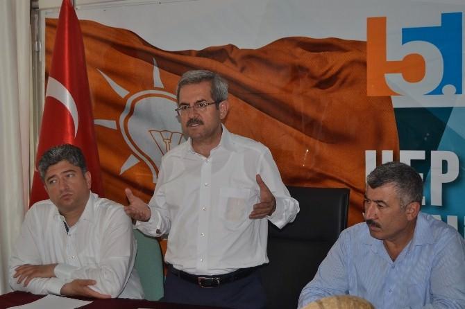 """Ünüvar: """"AK Partisiz Koalisyon Olamayacağının Muhalefet De Farkında"""""""