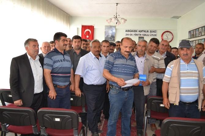 Akdağmadeni Köy Muhtarlarından MHP Genel Başkan Yardımcısı Sadir Durmaz'a Tepki