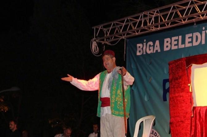 Biga'da Ramazan Şenlikleri