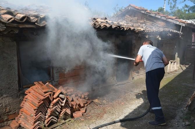 Osmancık'taki Ardiye Yangını Korkuttu