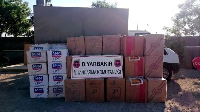 Diyarbakır'da 49 Bin 940 Paket Kaçak Sigara Ele Geçirildi