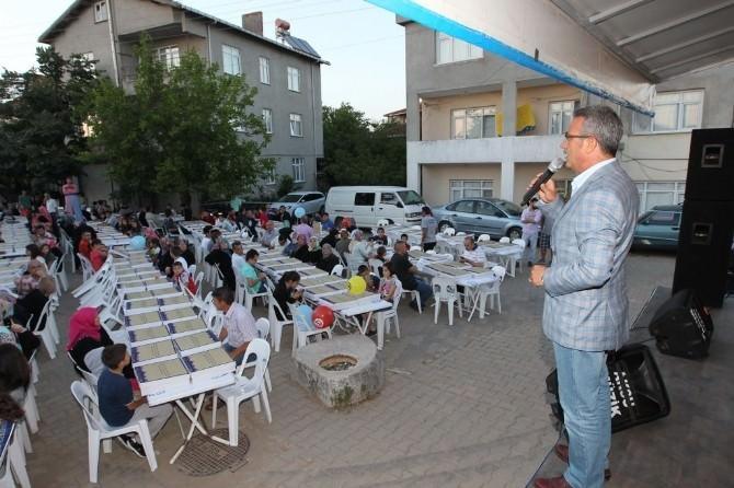 Gebze Belediyesi Mahalle İftarlarına Devam Ediyor
