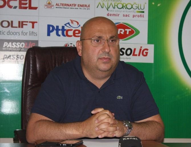 Giresunspor'da Teknik Direktör Sorunu Cuma Gününe Kadar Çözülecek