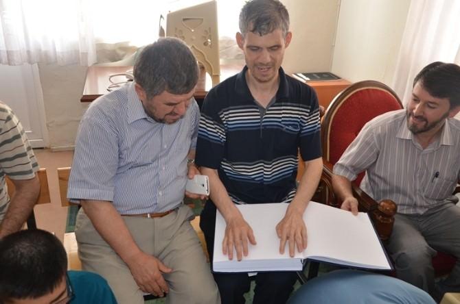 Görme Engelliler Kur'an Kursu Yaz Döneminde De Devam Ediyor