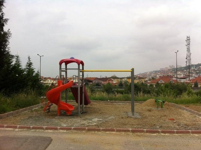 Alikahya'ya Yeni Park Yapılıyor