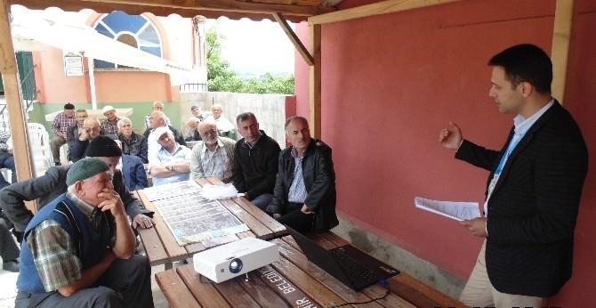 İzmit Belediyesi Köy Eğitimlerine Devam Ediyor