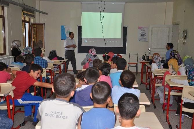 Pınarbaşı'nda Yaz Kuran Kursu Törenle Başladı