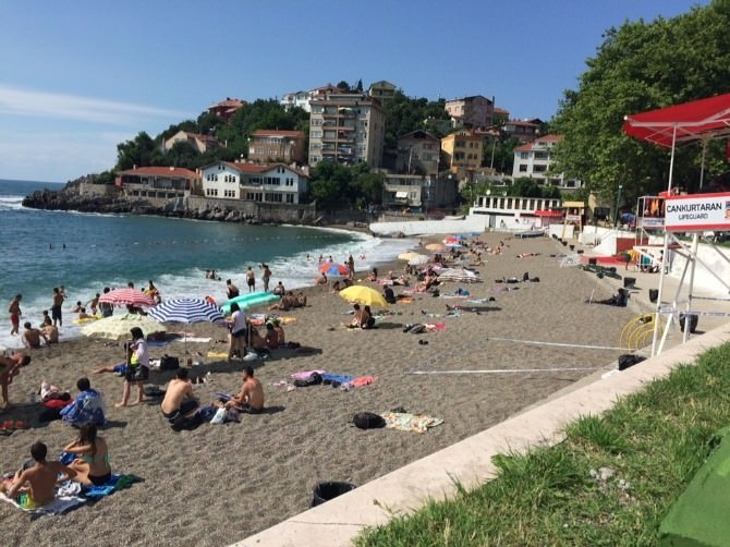 Ramazan Ayında Plaj Boş Kaldı