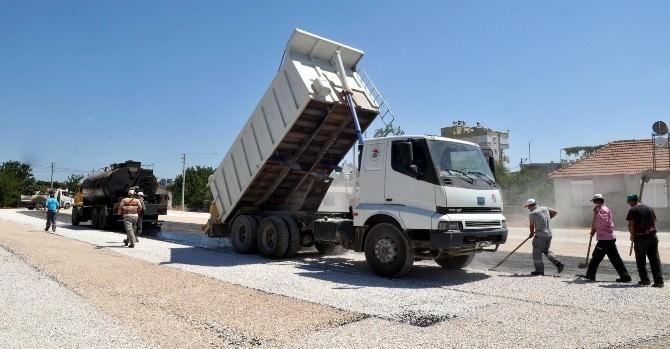 Kepez'de Asfalt Çalışmaları Devam Ediyor