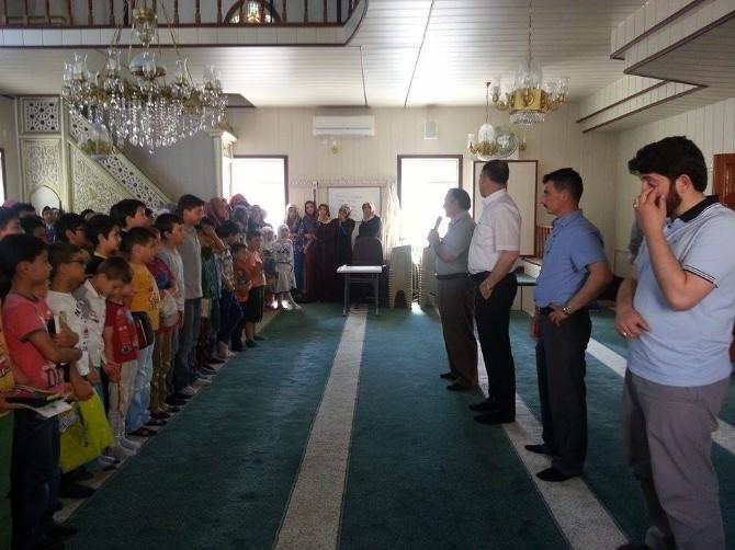 Sungurlu'da Yaz Kur'an Kursları Eğitime Başladı