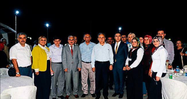 Vali Mustafa Büyük'ten şehit yakınlarına iftar