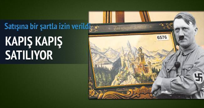Hitler'in 'vasat' denilen tabloları kapış kapış satıldı