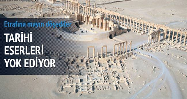 IŞİD, Palmira'yı mayınlarla kapladı