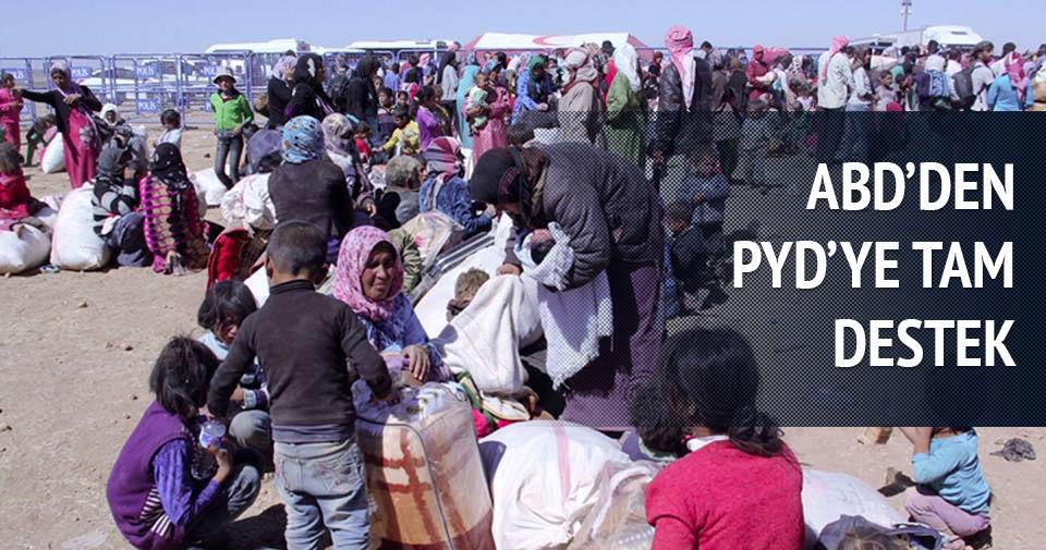 ABD'den PYD'ye tam destek