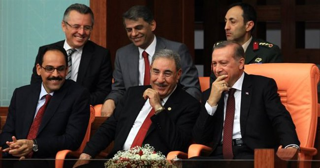 Erdoğan Meclis'te