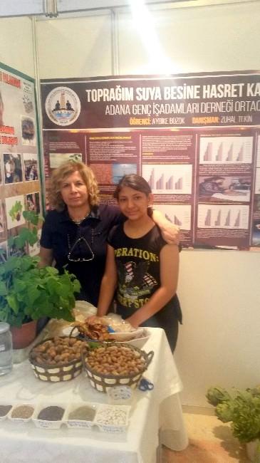 Aybike Bozok Ulusal Yarışmada Birinci Oldu