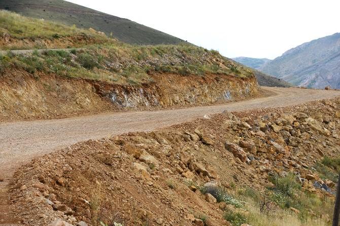 Karagöz'de Yol Genişletme Çalışmaları
