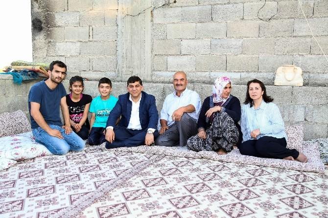 Başkan Fadıloğlu Ramazan Ayında Da Aileleri Yalnız Bırakmadı