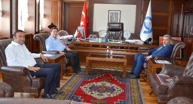 Başkan Yazgı'dan Rektör Şahin'e Ziyaret