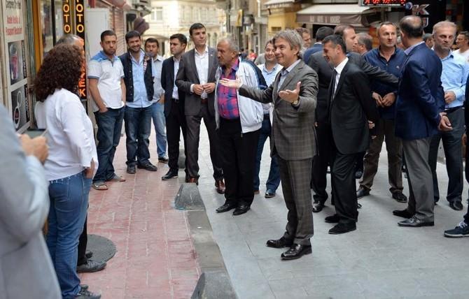 Beyoğlu'nda Sokaklar Yenileniyor