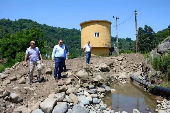Görele'nin İçme Suyu Şebekesi Güçlendiriliyor