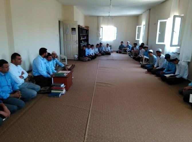 İdil'de Yaz Kur'an Kursları Açıldı