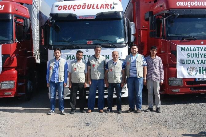 İHH'dan, Suriyelilere 3 Tır Yardım Malzemesi