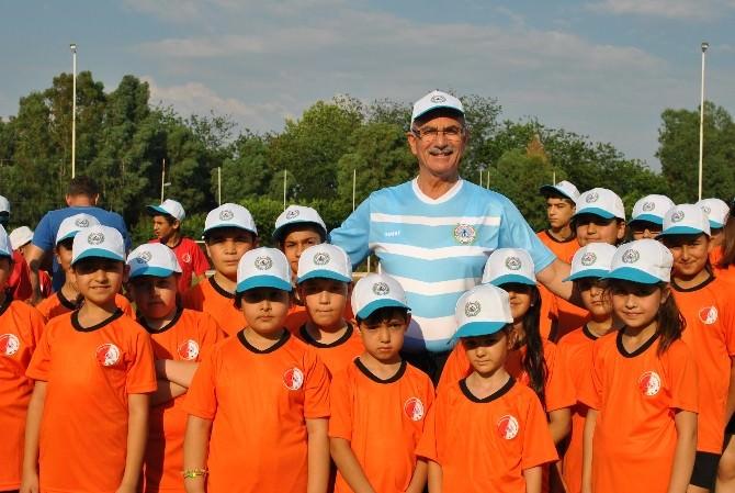 İncirliova Belediyesi Yaz Spor Okulu Açıldı