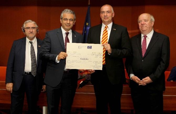 Karşıyaka Belediyesi Büyük Ödülü Strazburg'da Aldı