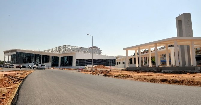Mimar Sinan Kongre Ve Sergi Merkezi İnşası Tamamlandı.