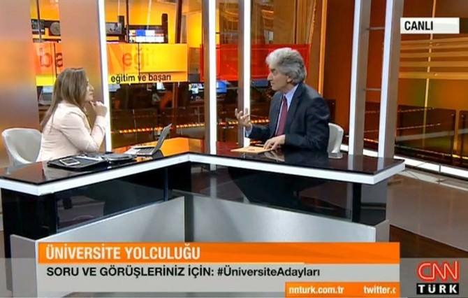 Rektör Prof. Dr. Korkmaz Cnn Türk'te ARÜ Ve Künib'i Anlattı