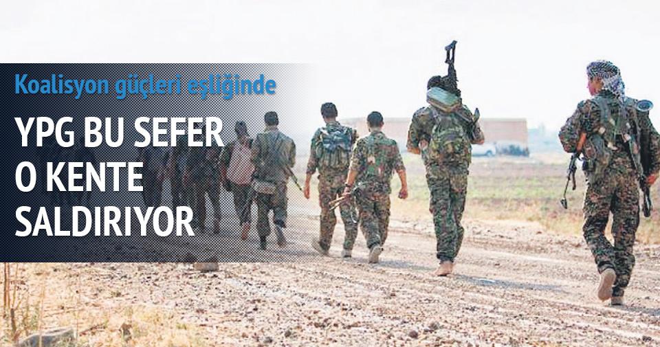 YPG MİLİSLERİ RAKKA YOLUNDA