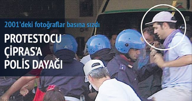 Eylemci Çipras G8'i protesto etmiş