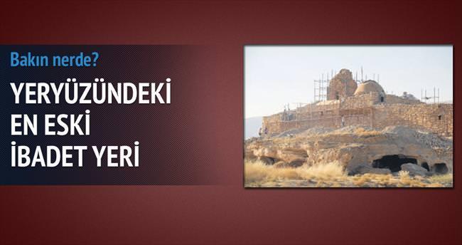 İlk ibadet yeri Hasankeyf'te!